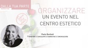 Organizzare un evento nel centro estetico