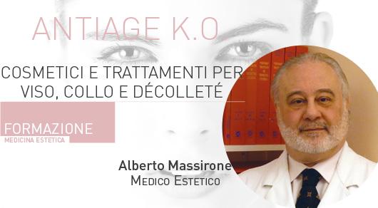 Antiage K.O. Cosmetici e trattamenti per viso, collo e décolleté