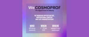 WeCosmoprof a sostegno dell'industria cosmetica
