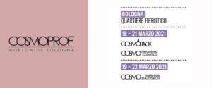 Le nuove date di Cosmoprof Worldwide Bologna